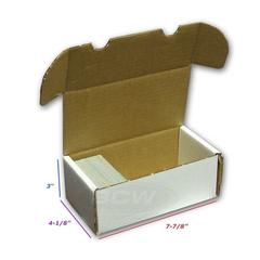 BCW Storage Box 1 Row Mini ( 400 ct ) White