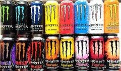 Monster Energy Drink ( Blue / Green / Etc. )