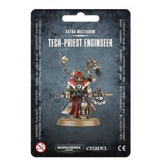 Tech - Priest Enginseer - Astra Militarum