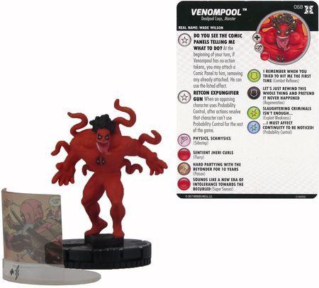 Venompool 068 Chase Heroclix Singles Deadpool The X Force