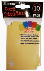 Card Sleeve Dividers Pack of 10 Ultra Pro (colors)