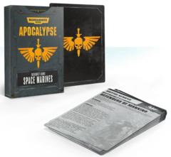 Apocalypse Datasheet Cards: Space Marines