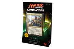 Commander 2016: Stalwart Unity Red/Green/White/Blue Deck