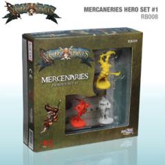 Rum & Bones Mercenaries Heroes Set #1