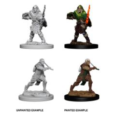 D&D Unpainted Minis - Elf Fighter - Male