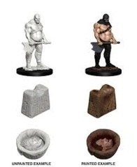 Pathfinder Battles Unpainted Minis - Executioner & Chopping Block