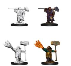 D&D Nolzur's Marvelous Miniatures – Male Dwarf Cleric