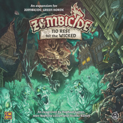 Zombicide No rest For the Wicked Expansion