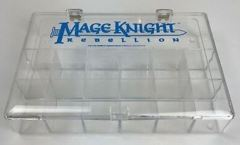 Mage Knight Rebellion Clear Storage Case