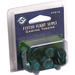 Fantasy Flight - Green Gaming Tokens