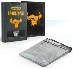 Apocalypse Datasheet Cards: Orks