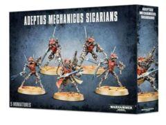 Adeptus Mechanicus Sicarians / Ruststalkers / Infiltrators