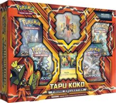 Tapu Koko Figure Collection Box