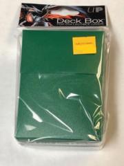 Green Deck Box Ultra Pro 80+Solid