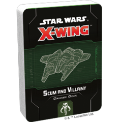 Scum and Villainy Damage Deck Star Wars: X-Wing Second Edition