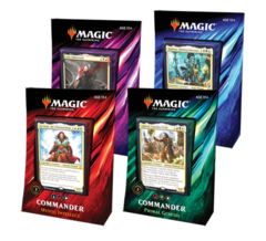 Commander 2019: Set of 4