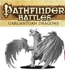 Pathfinder Battles Deep Cuts Unpainted Minis - Gargantuan Red Dragon