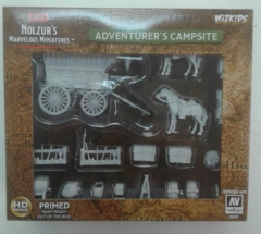 Dungeons And Dragons: Nolzur's Marvelous Unpainted Miniatures - Adventurer's Campsite