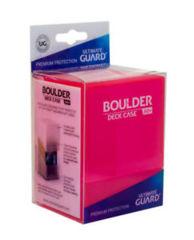 Ultimate Guard - Deck Case 80+ Boulder - Rhodonite / Pink