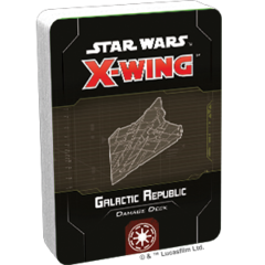 Galactic Republic Damage Deck Star Wars: X-Wing Second Edition