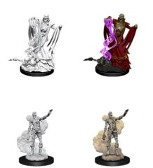 D&D Nolzur's Marvelous Miniatures – Lich & Mummy Lord