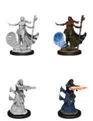 D&D Nolzur's Marvelous Miniatures – Female Human Wizard
