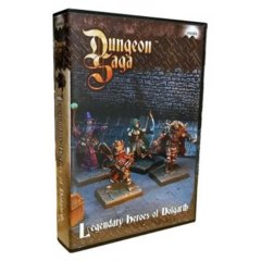 Dungeon Saga - Legendary Heroes of Dolgarth