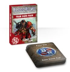 Blood Bowl Team Card Pack – Chaos Chosen