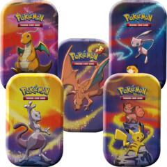 Pokemon Mini Tins - Kanto Power