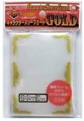 KMC (60 cnt. Standard) Gold Frame Character Sleeves Guard Cover Sleeves