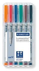Lumocolor 6 Color Dry Erase Marker Set