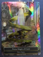 Light Magic Stone Italian Full Art - PR009 - Holo Rare