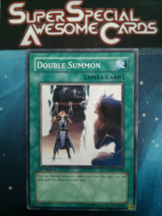 Double Summon - 5DS1-EN029 - Common - 1st Edition