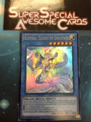Saffira, Queen of Dragons - DUEA-EN050 - Ultra Rare - 1st Edition