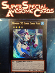 Number C32: Shark Drake Veiss - ABYR-EN039 - Ultra Rare - Unlimited Edition