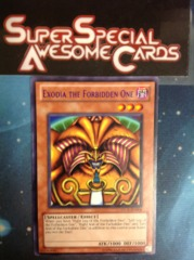 Exodia the Forbidden One - Purple - DL11-EN006 - Rare - Promo Edition