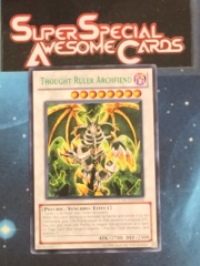 Thought Ruler Archfiend - Green - DL11-EN014 - Rare - Promo Edition