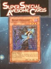 Night Assailant - CP01-EN005 - Super Rare - Promo Edition