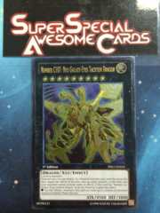 Number C107: Neo Galaxy-Eyes Tachyon Dragon - PRIO-EN041 - Ultimate Rare - 1st Edition