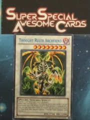Thought Ruler Archfiend - Blue - DL11-EN014 - Rare - Promo Edition