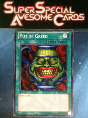 Pot of Greed - BP01-EN034 - Starfoil Rare - 1st Edition