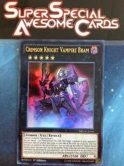 Crimson Knight Vampire Bram - MP14-EN164 - Ultra Rare - 1st Edition