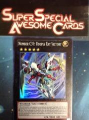 Number C39: Utopia Ray Victory - JOTL-EN048 - Super Rare - Unlimited Edition