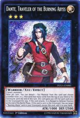 Dante, Traveler of the Burning Abyss - DUEA-EN085 - Secret Rare - Unlimited Edition
