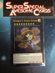 Number 9: Dyson Sphere - ABYR-EN044 - Ultimate Rare - Unlimited Edition
