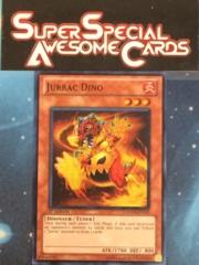 Jurrac Dino - HA04-EN015 - Super Rare - 1st Edition