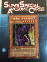 The End of Anubis - AST-000 - Secret Rare - 1st Edition