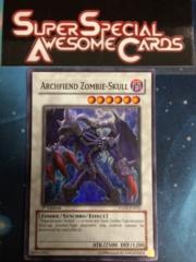 Archfiend Zombie-Skull - ANPR-EN042 - Super Rare - 1st Edition