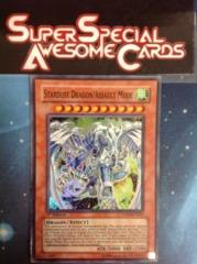 Stardust Dragon/Assault Mode - DP09-EN001 - Super Rare - 1st Edition