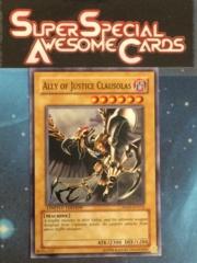 Ally of Justice Clausolas - HA01-EN014 - Super Rare - Limited